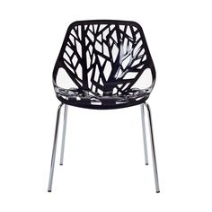 Tree of Life Side Chair - Black