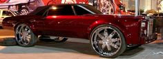 Custom Chrome Rims on pimped out Donk Cars, Chevy Bubbles, and Custom Suvs.