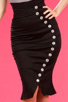 Salina-Lou- Retro sailor stretch skirt... Ooo sooo cute love love love
