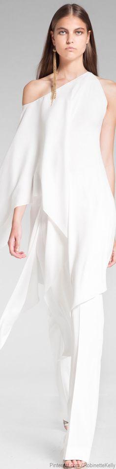Donna Karan #white dress