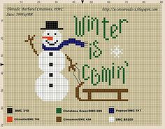 XCrossroadsX Designs: Winter is comin' (freebie)