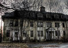 #abandoned Rosewood near Baltimore or Washington DC - used to be a mental facility.