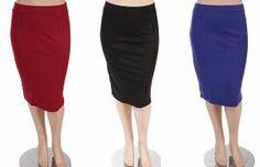 Ponte Roma Plus Knee Skirt - $32