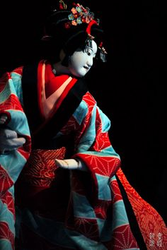 Bunraku - Japanese traditional puppet show