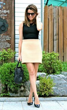 Fashion and Style Blog / Blog de Moda . Post: In Korea / En Corea.More pictures on/ Más fotos en : http://www.ohmylooks.com/?p=18735