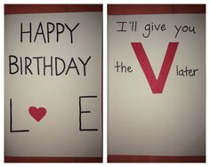 ... For Boyfriend, Birthday Cards For Boyfriend, Crafts, Birthday Ideas