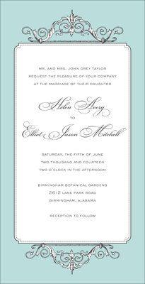 Elegant Affair Invitations