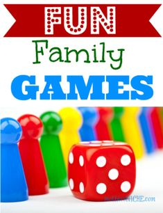Fun & Favorite Family Games. Family game nights are a such a thrifty way to enjoy time together and can be loads of fun with the right games!