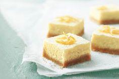 lemon bars, kraft recipes, squar recip, lemon cheesecake, lemon squares