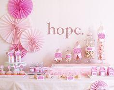 gorgeous dessert table
