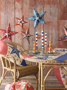Easy Red, White and Blue Project Ideas