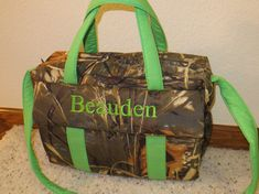 Realtree Max 4D Camo Diaper Bag w/change pad by EMIJANE on Etsy, $50.00