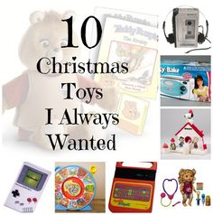 10 Toys and Gadgets I Always Wanted for Christmas