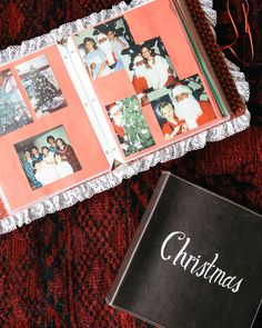 A CUP OF JO: Holiday idea: Making a family album