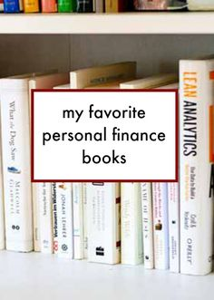 My favorite personal finance books.