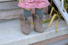 Booties | 39 American Girl Doll DIYs That Won't Break The Bank