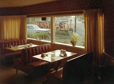 The Town:  Photography by Stephen Shore  (Very twin peaks)