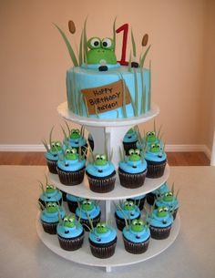 Cute idea for frog theme