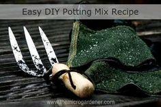 Easy DIY Potting Mix Recipe |
