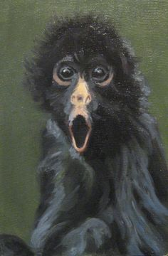 Monkey by ~Goce88 on deviantART