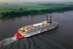 Honeymoon idea. Lovely paddleboat cruise on the Mississippi.