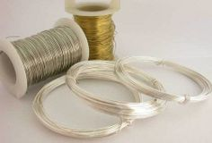 Jewellery making wire. Short, easy explanations about the size, hardness and types of jewellery making wire. Great for beginners