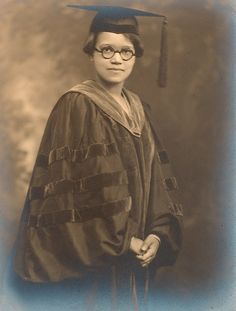 Ph.D. portrait of Sadie T.M. Alexander, 1921. The first African-American to receive a Ph.D. in Economics, the first woman to receive a law degree from the University of Pennsylvania Law School, the first national president of Delta Sigma Theta Sorority, Incorporated and  the first African-American woman appointed as Assistant City Solicitor for the City of Philadelphia.