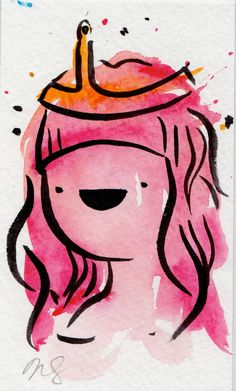 Princess Bubblegum / Adventure Time Fan Art