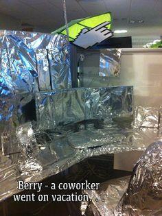 Office pranks!