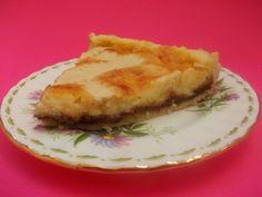 Crostata con crema al mascarpone e nutella