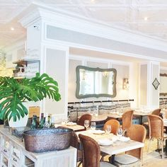 Our favorite place for in New York for a spot of lunch? The super-cool Claudette. #NYFW #CityGuide