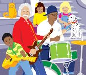 Learn Not To Burn preschool fire safety. Free lesson plans and songs.