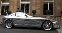 What? Mercedes-Benz SLR McLaren Chrome