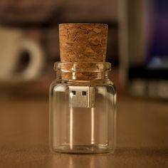 USB Message In A Bottle