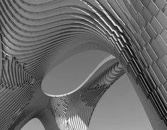 'Pleated Shell Structures' Exhibition / Zaha Hadid Architects