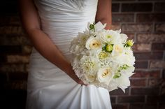 Dahlias, roses, and sweet peas by Savannah's Garden. Photo by T. Alimario Photography.