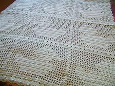 Free Teddy Bear Filet Crochet Afghan Pattern : crochet baby/kids on Pinterest Baby Afghans, Baby ...