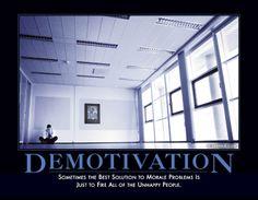 demotivation - demotivator