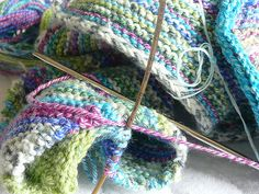Knitting Basics - Learn how to knit - step by step!