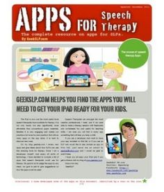 Apps for Speech Therapy :)