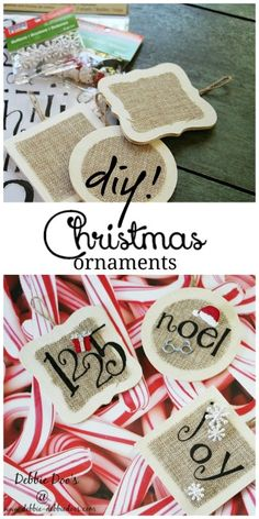 Christmas burlap and