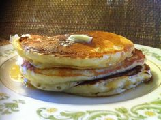 World's Best Homemade Pancake Recipe,just made it well see how they are!!!