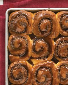 Cinnamon-Nut Buns Recipe