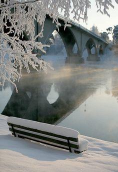 Österdalälven River, Dalarna, Sweden