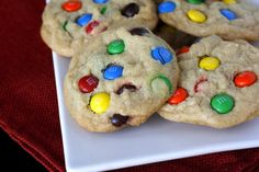M & M Cookies (What Megan's Making) - Recommended by a trusted friend on Facebook. I must try!