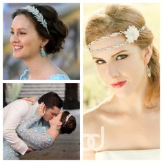 Wear shimmer on your wedding day like Blair Waldorf in Gossip Girl with Enchanted Shimmer Designs for Brides www.enchantedshimmer.com