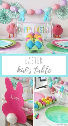Kid's Easter table f