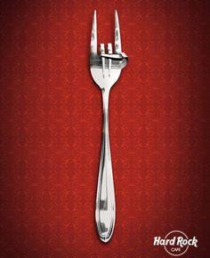 Hard Rock Cafe Fork