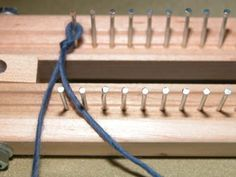 Free Knitting Board Patterns | Authentic Knitting board - Adjustable Knitting Boards, patterns, dvds ...