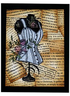 Stampendous » Rose Corset by Melinda Gleissner  Lovely!  :o)
